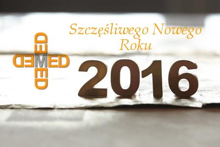 Demed Nowy Rok 2016 życzenia