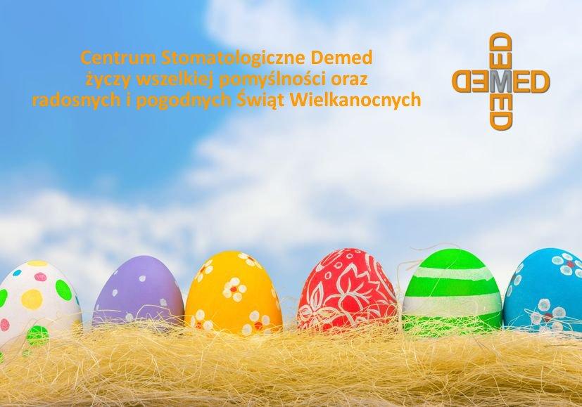 Centrum Stomatologiczne Demed Wielkanoc zyczenia 2016