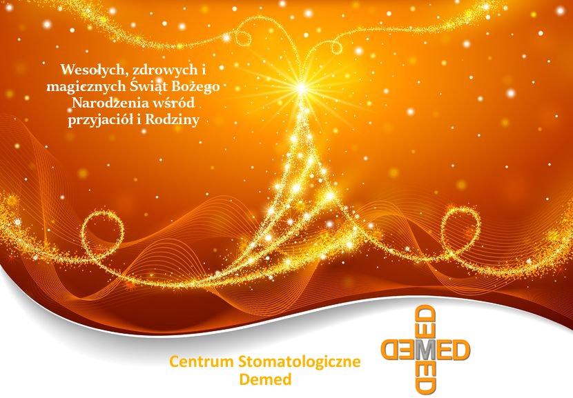 Demed Wesołych Świąt życzenia 2016